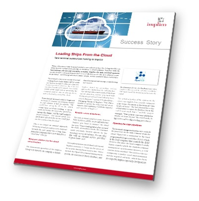 Implico Success Story Tankterminal Cloud Ship