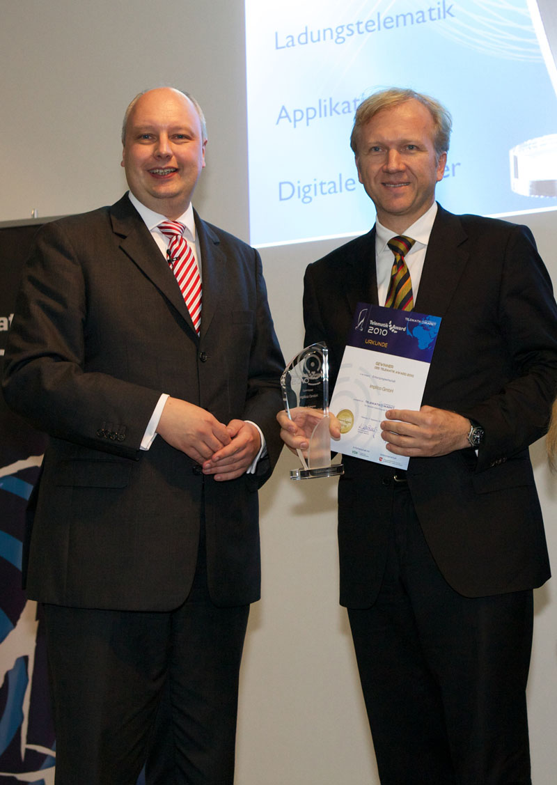 Implico wins 2010 Telematics Award - Featured Image