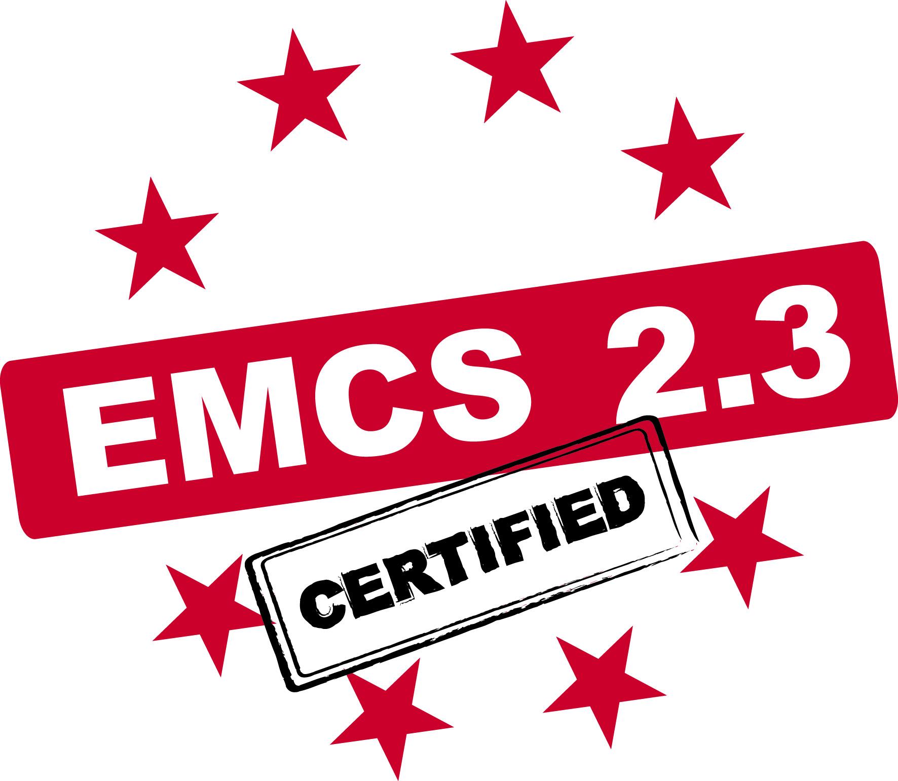 EMCS 2.3 – OpenTAS is certified - Featured Image