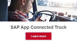 SAP App Connected Truck